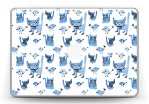 Cats & birds  Skin MacBook Pro 13