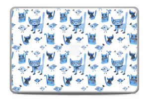 "Birds & cats Skin MacBook Pro 17"" -2015"