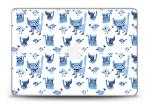 Cats & birds  Skin MacBook Pro Retina 15