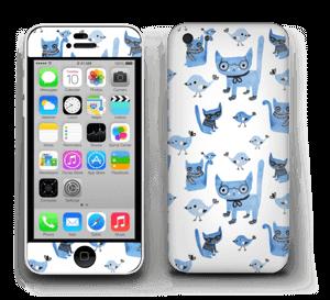 Cats & birds  Skin IPhone 5c