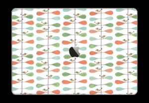 Birds & leafs Skin MacBook Pro Touch Bar 15