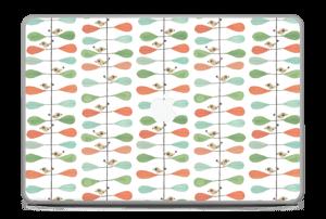 "Birds & leafs Skin MacBook Pro 17"" -2015"
