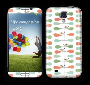Pikkulinnut tarrakuori Galaxy S4