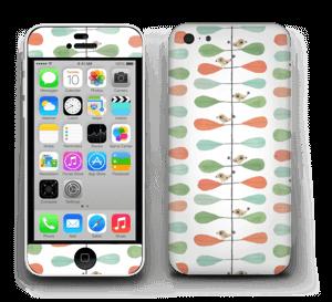 Birds & leafs Skin IPhone 5c