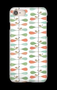 Småfugle & blade cover IPhone 8