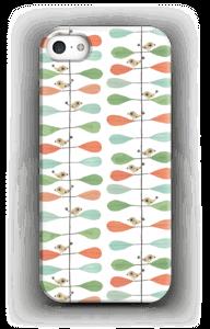Småfugle & blade cover IPhone 5/5S