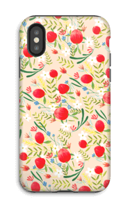 Flower Fields kuoret IPhone X tough