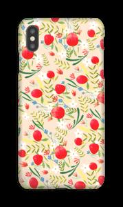 Flower Fields  deksel IPhone XS Max