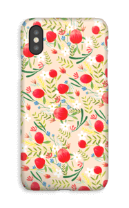 Flower Fields  deksel IPhone XS