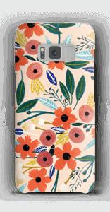 Kesän kukkasia kuoret Galaxy S8