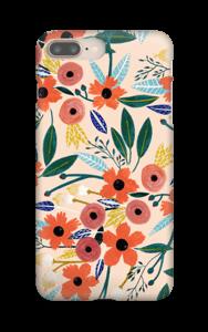 Kesän kukkasia kuoret IPhone 8 Plus