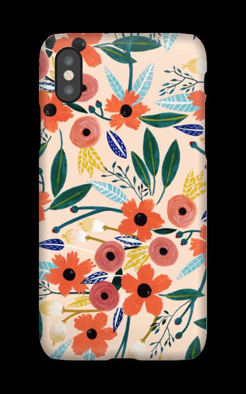 Summer Flowers deksel IPhone X