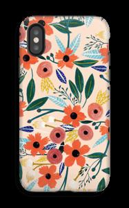 Kesän kukkasia kuoret IPhone X tough