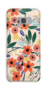 Summer Flowers case Galaxy S8 Plus
