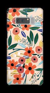 Summer Flowers deksel Galaxy Note8