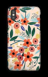 Summer Flowers deksel IPhone XS