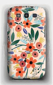 Kesän kukkasia kuoret Galaxy S3