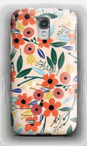 Kesän kukkasia kuoret Galaxy S4