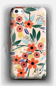 Summer Flowers deksel IPhone 5c