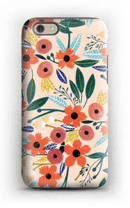 Summer Flowers case IPhone 6 tough
