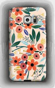 Kesän kukkasia kuoret Galaxy S6 Edge