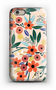 Summer Flowers deksel IPhone 6s tough
