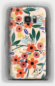 Sommerblumen Handyhülle Galaxy S7