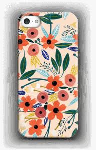 Kesän kukkasia kuoret IPhone SE