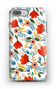 Rosa's Flowers deksel IPhone 7 Plus tough