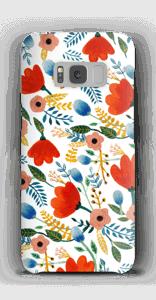 Rosa's Blumen Handyhülle Galaxy S8