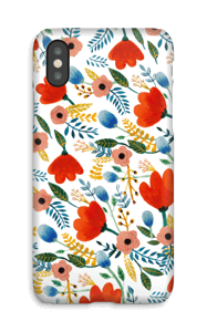 Rosa's Flowers case IPhone X