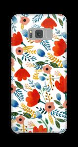 Fleurs Coque  Galaxy S8 Plus