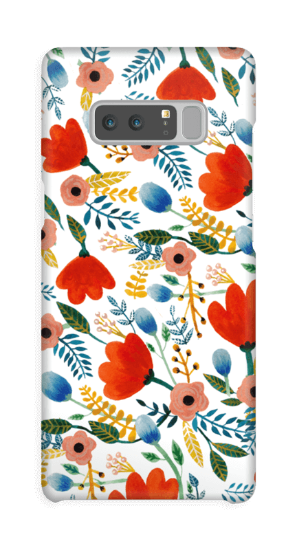 Rosa's Flowers case Galaxy Note8