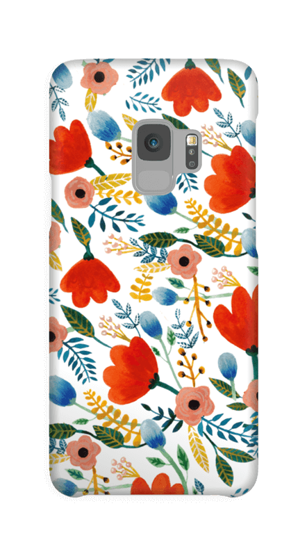 Rosa's Flowers case Galaxy S9