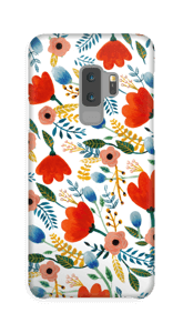 Fleurs Coque  Galaxy S9 Plus