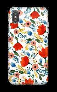 Fleurs Coque  IPhone XS Max tough