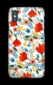 Rosa's Flowers deksel IPhone XS