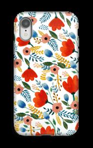 Fleurs Coque  IPhone XR tough