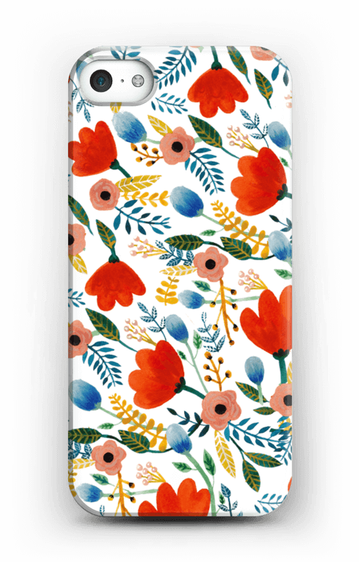 Rosa's Flowers case IPhone 5/5S