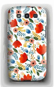 Rosa's Flowers deksel Galaxy S3