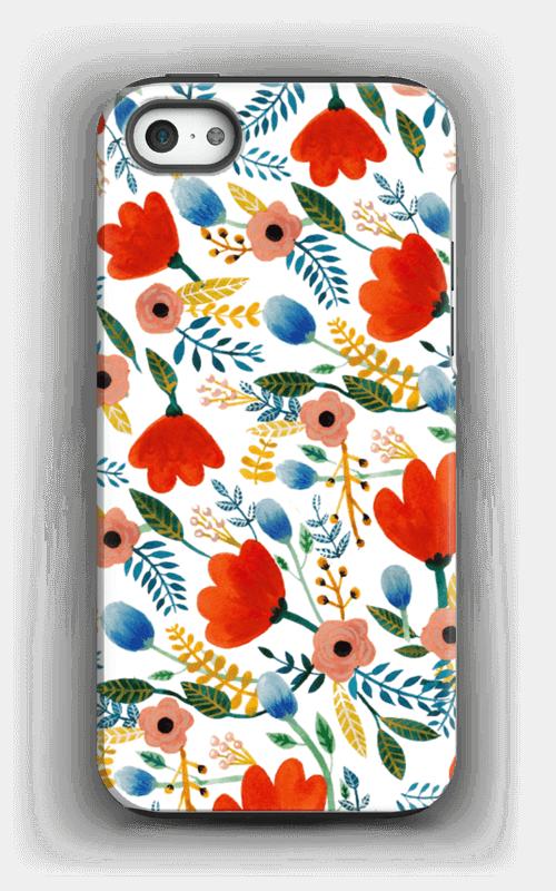 Rosa's Flowers case IPhone 5/5s tough