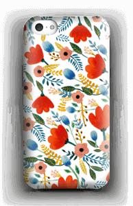 Rosa's Flowers kuoret IPhone 5c