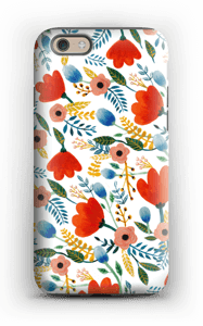 Rosa's Flowers case IPhone 6 tough
