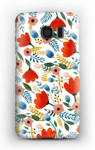 Rosa's Flowers case Galaxy S6