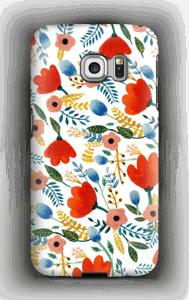 Fleurs Coque  Galaxy S6 Edge
