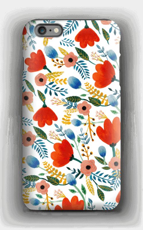 Rosa's Flowers kuoret IPhone 6 Plus tough