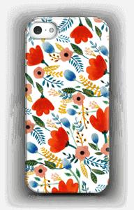 Rosa's Flowers kuoret IPhone SE