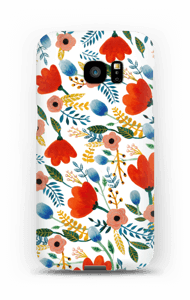 Rosa`s blomster cover Galaxy S7 Edge