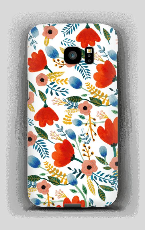 Rosa's Flowers case Galaxy S7 Edge