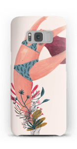 Blumentanz Handyhülle Galaxy S8